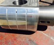 Grauguss-Teil beschichtet mit Lagermetall