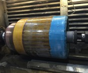 Rotor Lagersitz beschichtet